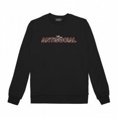Свитшот Antisocial Camera Logo Black