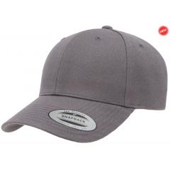 Кепка FlexFit Curved Visor Snapback Dark Grey