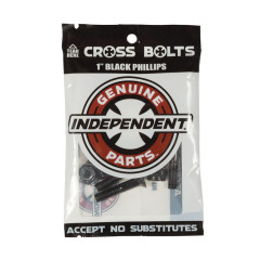 Винты для скейта Independent - Phillips Hardware Black