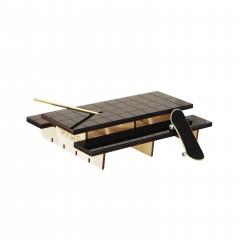 Фингерпарк PARS P-Table верх из черной плитки
