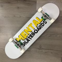 """Скейтборд Mental Skateboards White 8.125"""" NEW"""