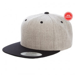 Кепка FlexFit Classic Snapback Heather/Black